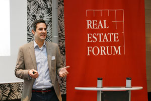 Nikolai Roth auf dem Real Estate Forum