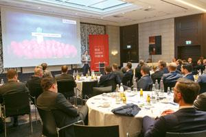 Ca. 80 Entscheider aus der Immobilienwirtschaft lauschten gebannt dem Vortrag von Nikolai Roth