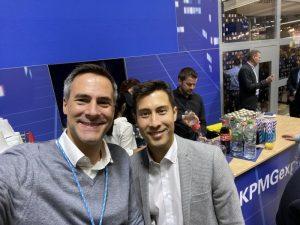 Ogulo-CEO Florentino Trezek und ich