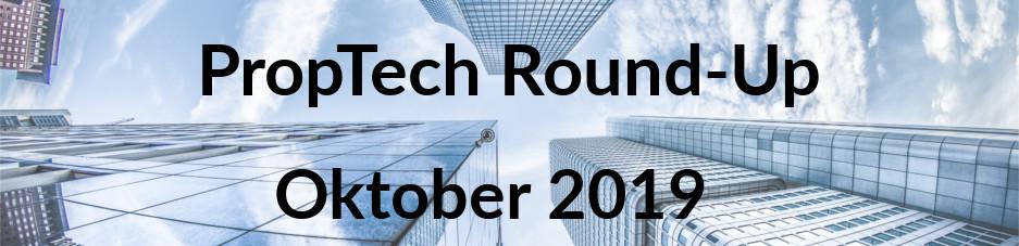 Gewinner des Real Estate Innovation Contest 2019 - Das PropTech Round-Up  im Oktober