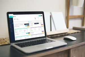 Die Plattform Beestate in der Desktop-Ansicht