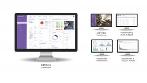 Mit den Dashboards von simplifa haben Kunden alle Informationen rund um ihre Aufzüge im Blick