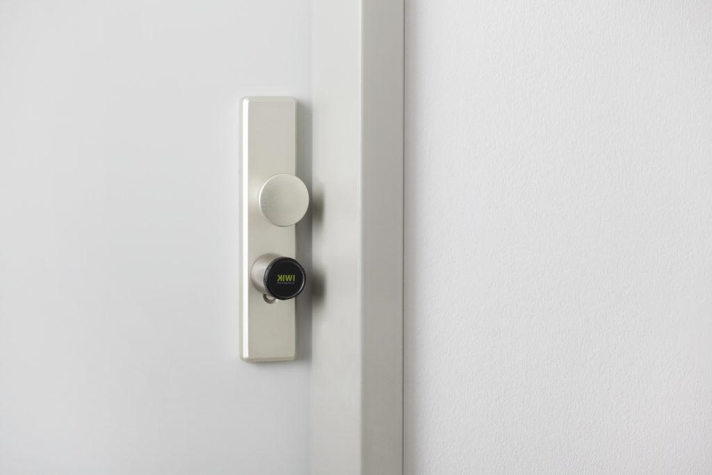 Das KIWI Smart Lock ermöglicht ein modernes Zutrittsmanagement ohne den Einsatz eines Schlüssels