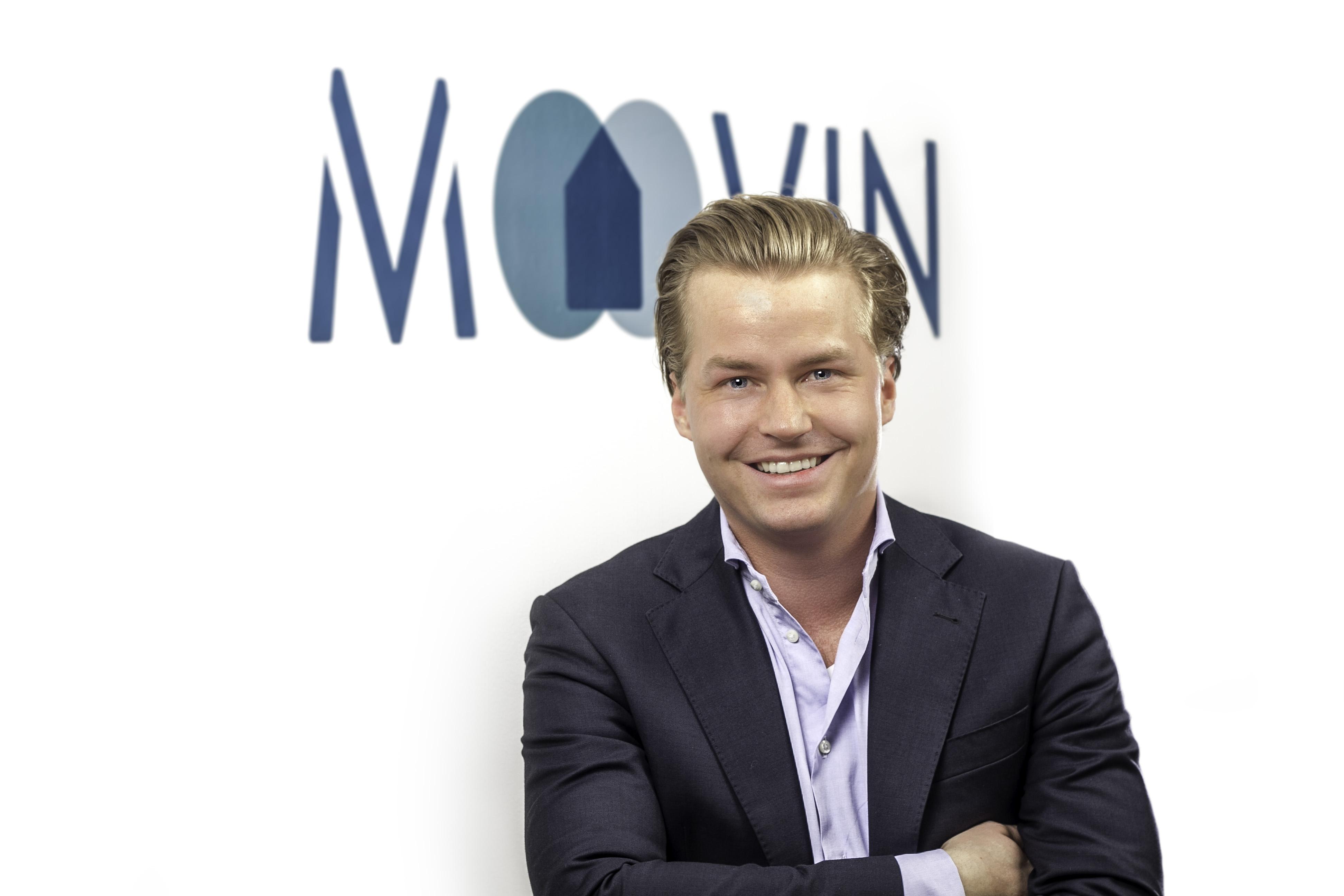 Fabian Mellin, Gründer & Geschäftsführer moovin