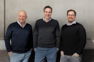 : Von links nach rechts: Malte Ploghöft, Nikolai Roth, Cord-Christian Nitzsche