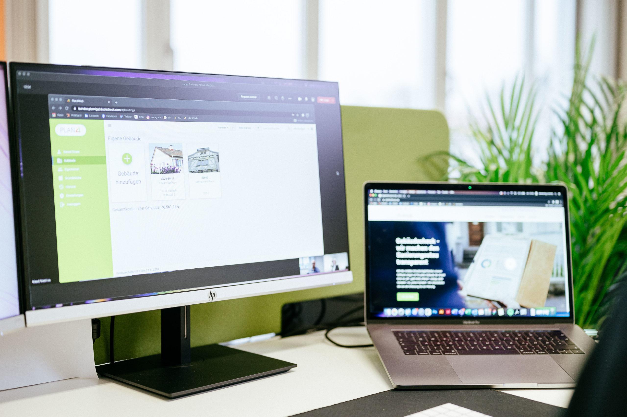Ein Blick auf die Arbeit mit der Plan4 Software